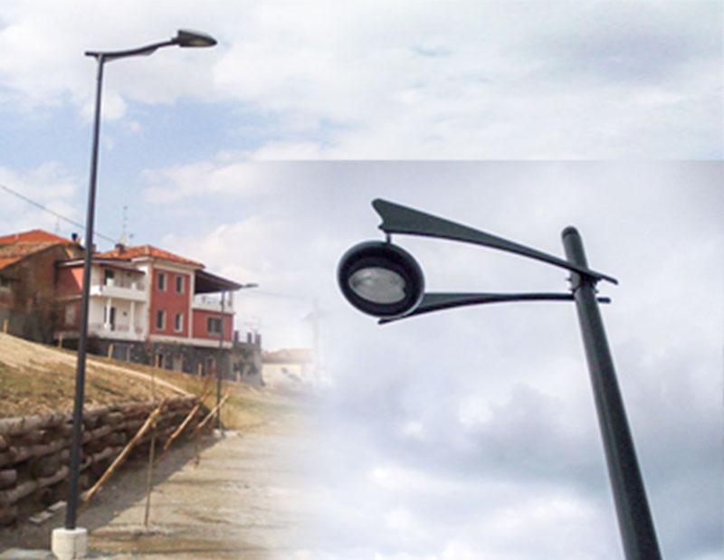 Ldt tosoni produzione pali illuminazione e materiale elettrico